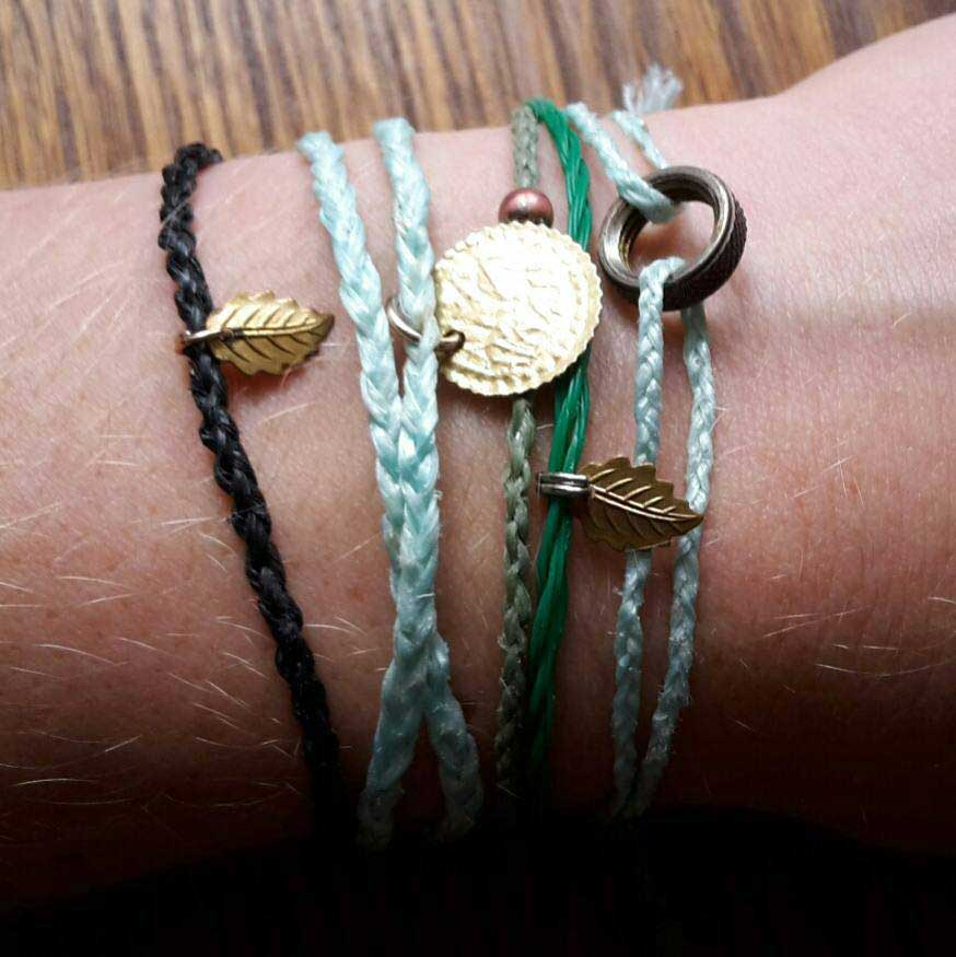 armbandjes 100 procent upcycled